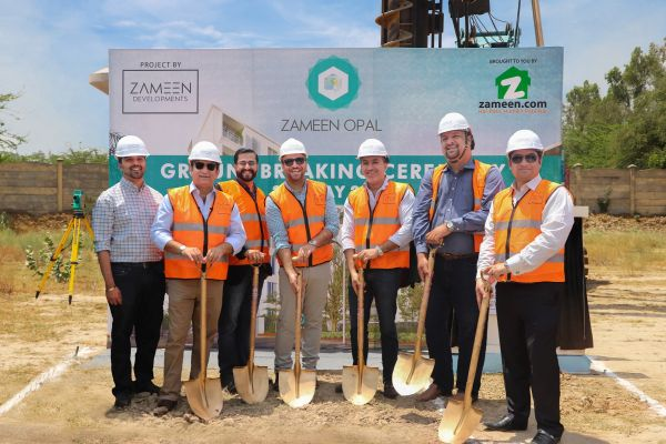 Groundbreaking ceremony of Zameen Development's project 'Zameen Opal' takes place in Lahore