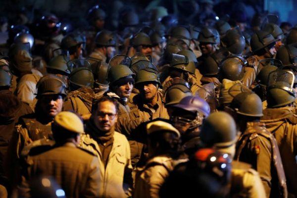 Clash in India
