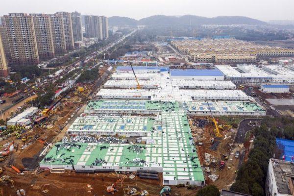 China open new hospital