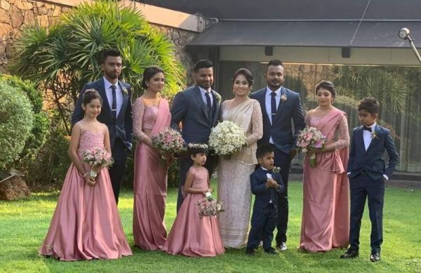 KUSAL PERERA WEDDING PHOTO