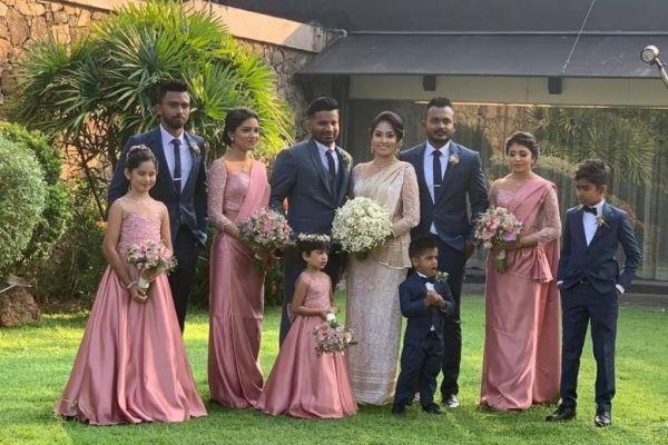 KUSAL PERERA WEDDING PHOTO
