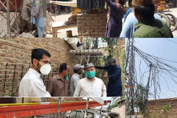 HESCO cuts illegal power connections