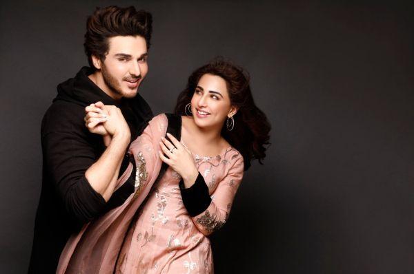 Ahsan Khan and Ushna Shah