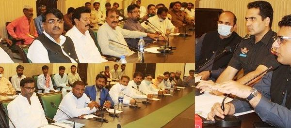 DC Thatta chairs meeting to review Ashura security plan