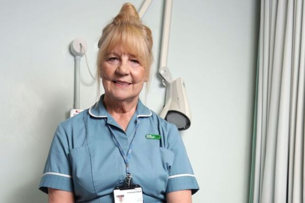 MacMillan's oldest nurse Sally Jorden
