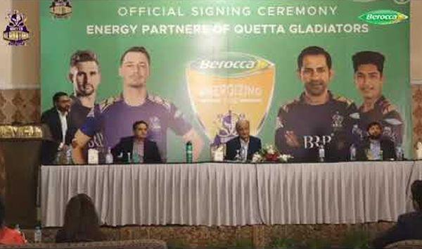 Bayer's Berocca joins hands with the Quetta Gladiators