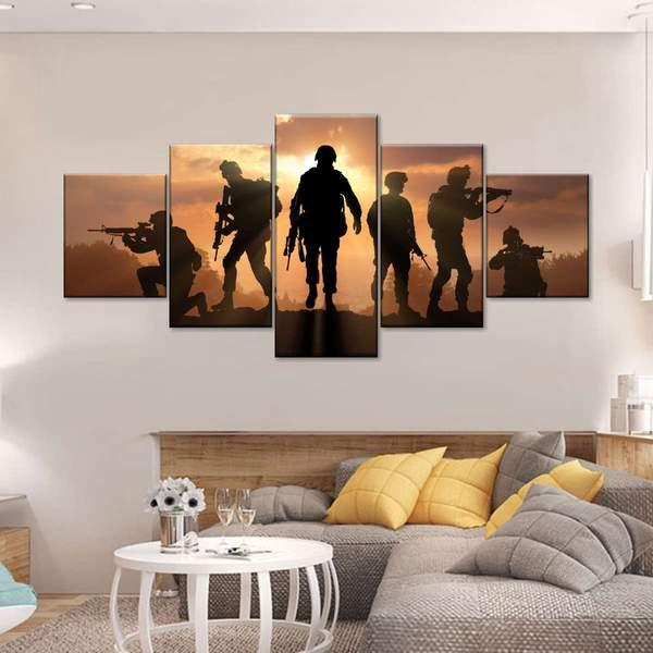 On A Mission Multi Panel Canvas Wall Art