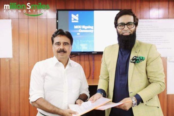 Million Smiles Foundation and NETSOL sign memorandum of understanding