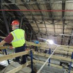 Inside look into the renovation at Union Station.