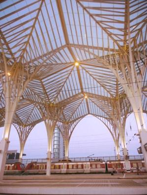 Lisboa Oriente Railway Station, Lisbon, Portugal