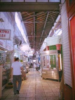 Market in Thessaloniki, Greece