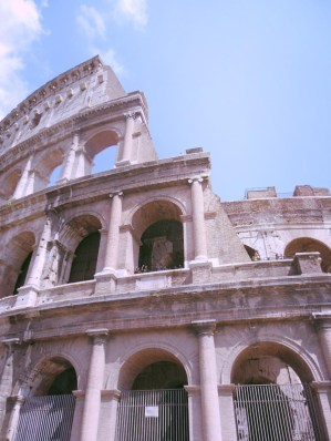 The Mighty Colosseum of Roma, Rome, Italy