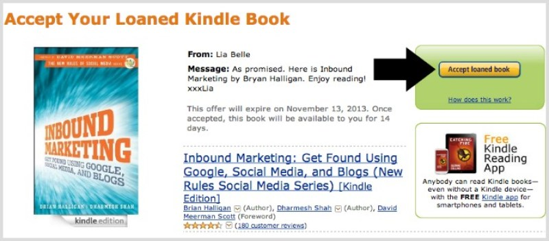 How to lend and borrow Kindle ebooks to and from anyone you choose