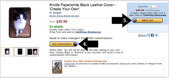 How to personalize Kindle covers and skins using