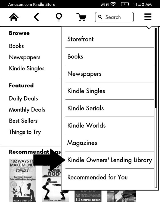 Kindle Owners Lending Library