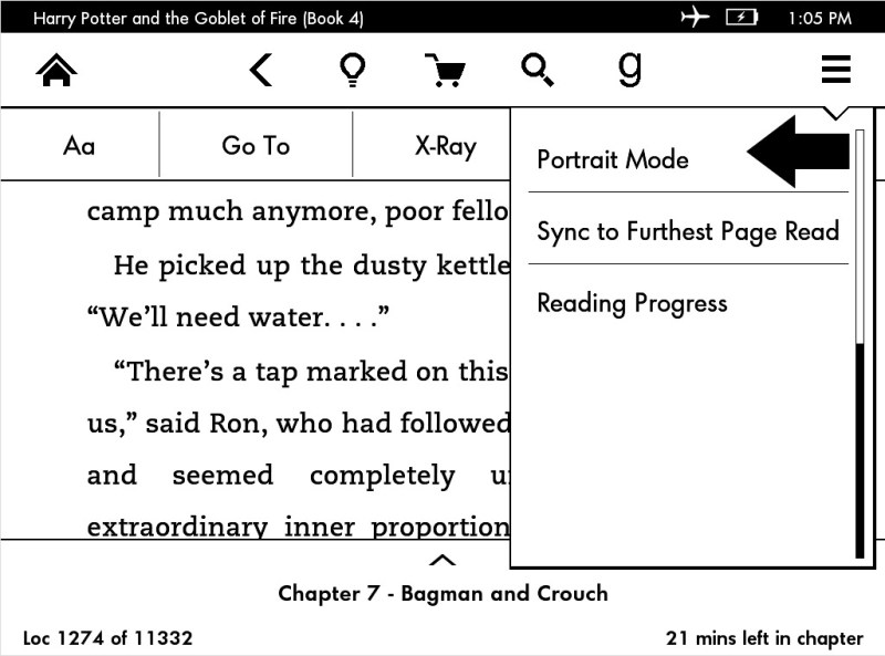 How to read ebooks in Landscape Mode on your Kindle Paperwhite