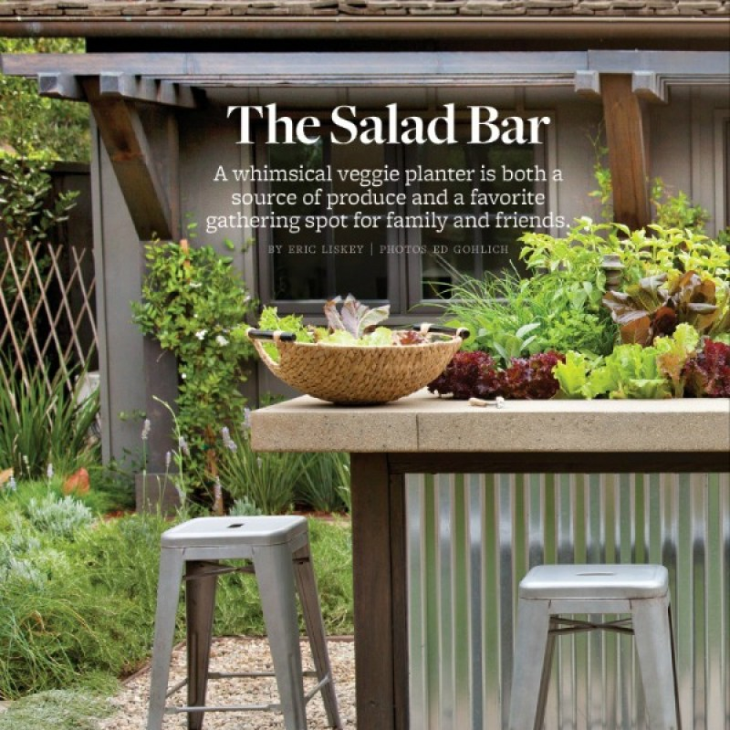 The Salad Bar as seen on Better Homes and Gardens Magazine, June 2014