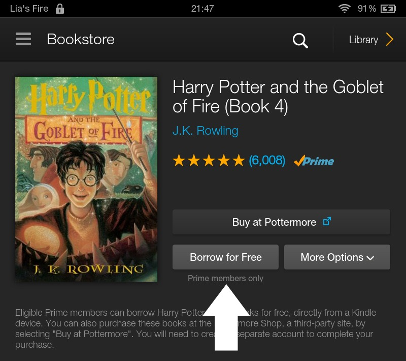 How to borrow ebooks from Kindle Owners' Lending Library on your Kindle Fire - borrow for free