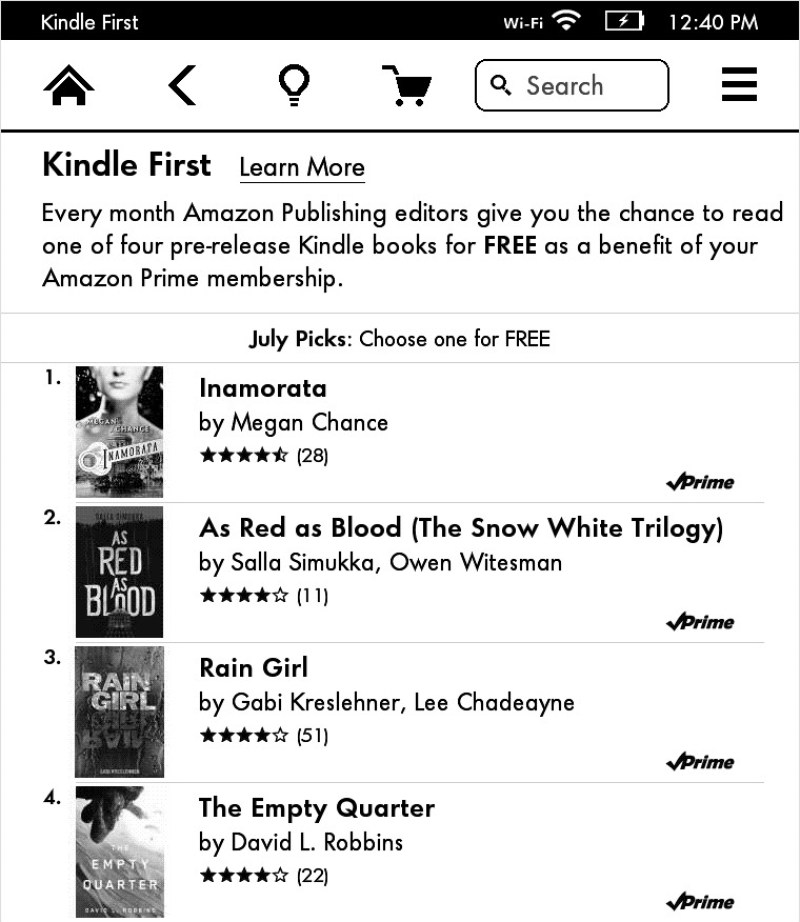 How to download the Kindle First books on your Kindle Paperwhite