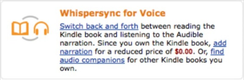 How to download a FREE Whispersync for Voice each month with Amazon Prime - Free This Month purchased