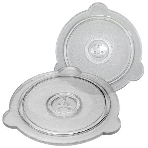 Cuchina Safe Vented Microwave Glass Lid for Bowls, Mugs and Pots - Set of 2