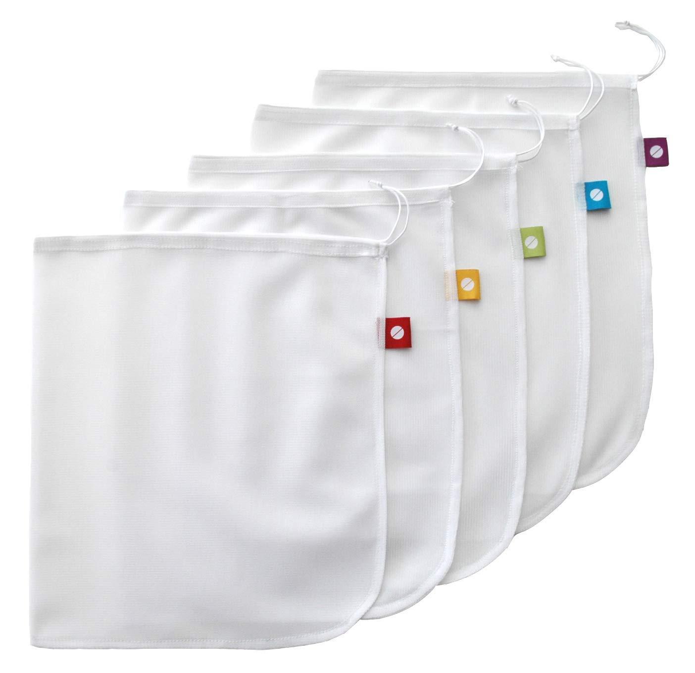 Flip & Tumble Mesh Produce Bags - Set of 5
