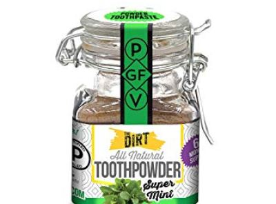 The Dirt All Natural Toothpowder Super Mint - 51 Gram