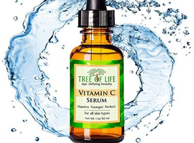 Tree of Life Beauty Vitamin C Serum for Face with Hyaluronic Acid