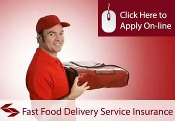 fast food delivery services liability insurance