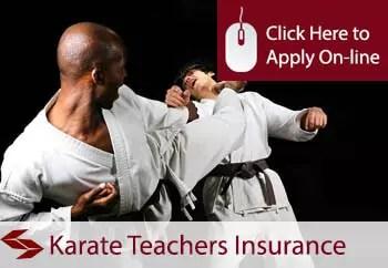 karate teachers public liability insurance