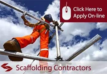 scaffolding contractors public liability insurance