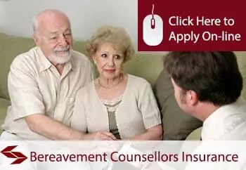 bereavement counsellors public liability insurance