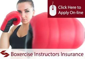boxercise instructors public liability insurance