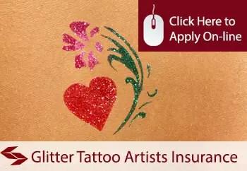 glitter tattoo artists public liability insurance