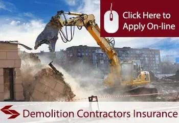 demolition contractors liability insurance