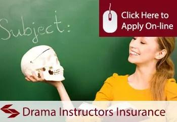 drama instructors public liability insurance