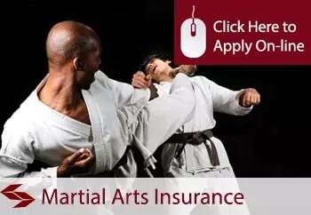 martial arts teachers public liability insurance
