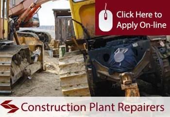 construction plant repairers public liability insurance