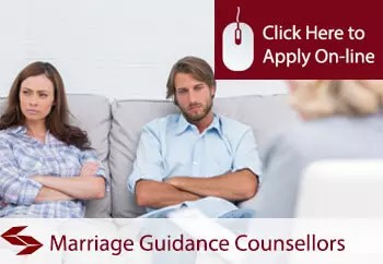 marriage guidance counsellors public liability insurance