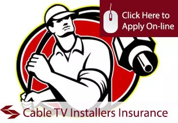 cable TV installers ex cable laying public liability insurance