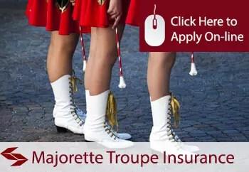 majorette troupes public liability insurance