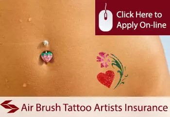 air brush tattoo artists public liability insurance