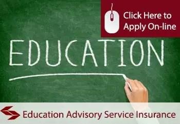 education advisory services liability insurance