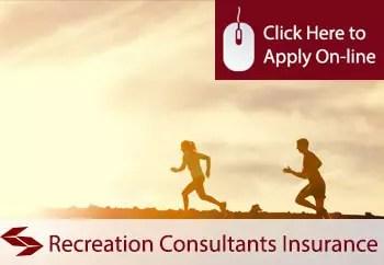 recreation consultants public liability insurance
