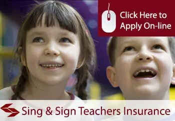 sing and sign teachers liability insurance