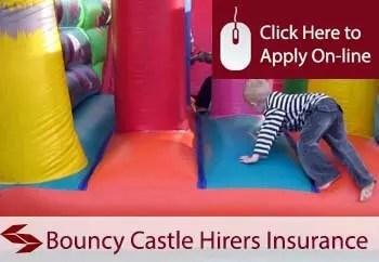 bouncy castle hirers liability insurance