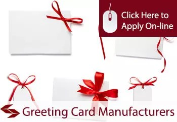 greeting card manufacturers liability insurance