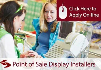 point of sale display installers public liability insurance
