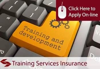 training services public liability insurance