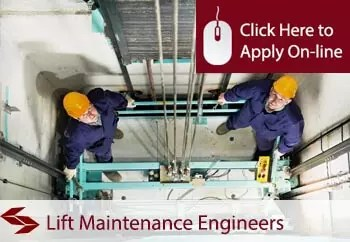 lift maintenance engineers public liability insurance